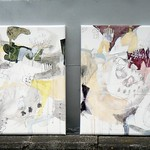 Diptych: Dreaming on the horseback
