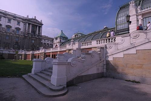 Wien - Vienna - City - Palmenhaus - Stiegenaufgang