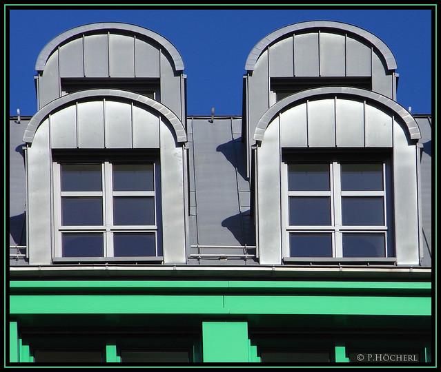 Dachfenster in Berlin
