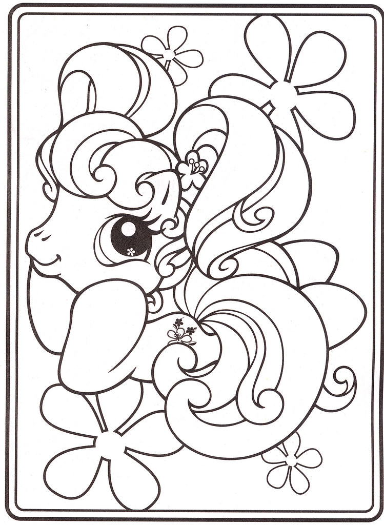 My Little Pony Coloring Pages 18 Coloringpagesforkids Flickr