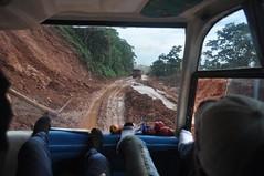 Una mica de fang al camí (i això que no és període de pluges!)