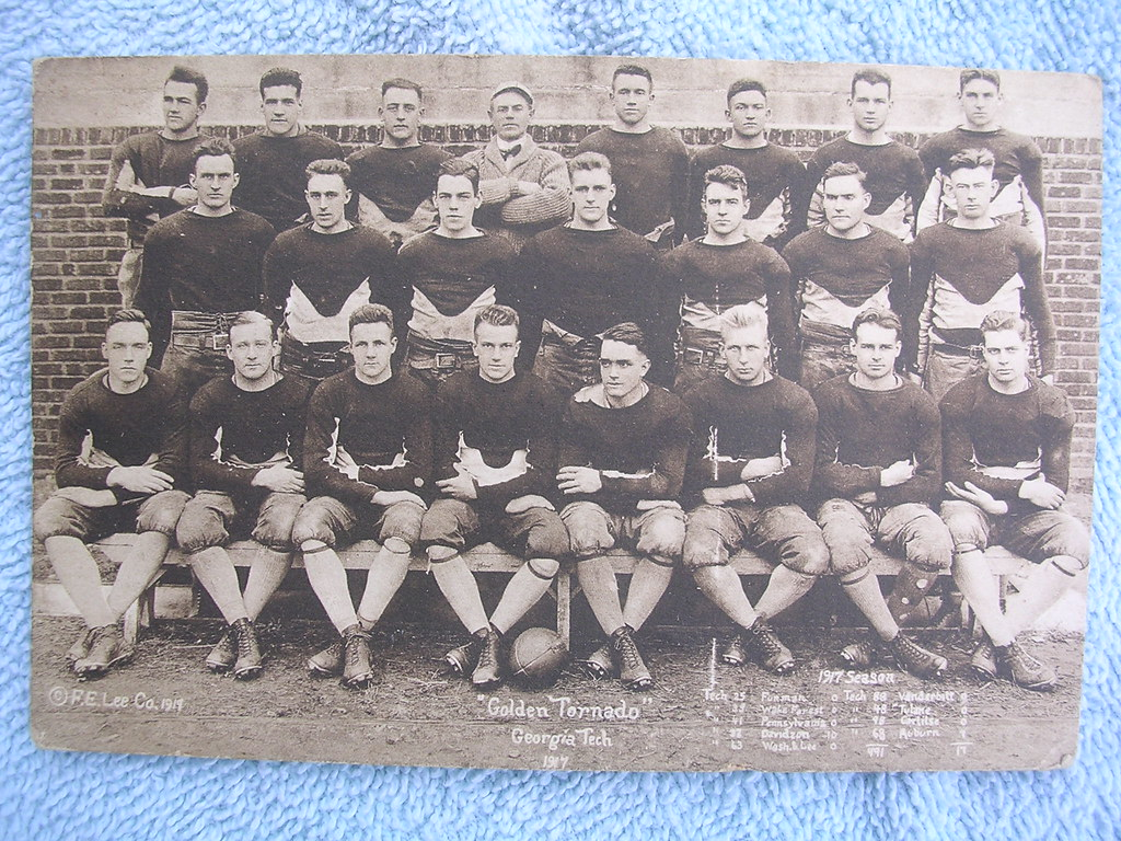 1917 Georgia Tech Golden Tornado football team