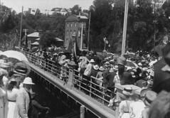 Gawler Bridge opening - 22nd January 1908