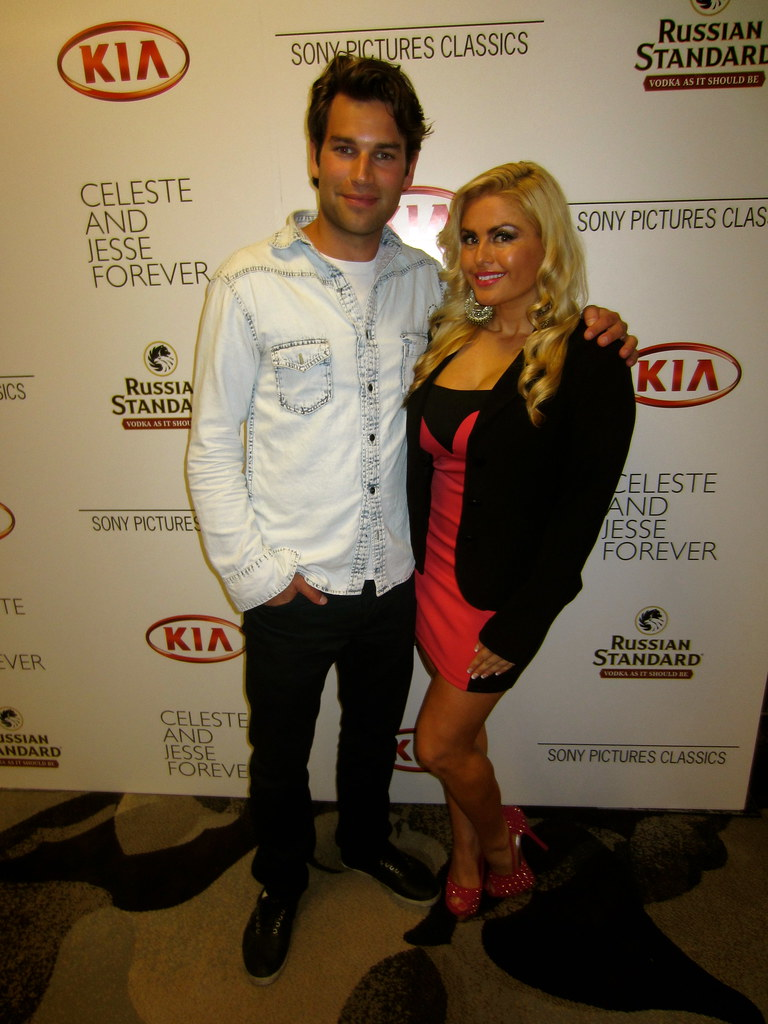 Aiden Simko Tia Barr Celeste And Jesse Forever Premiere Flickr