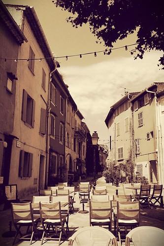 Cogolin vieux ville   by A. v. Z.