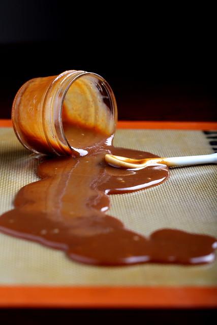 Olives for Dinner | Easy Whiskey-Sriracha Caramel Sauce