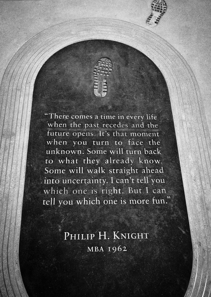 Dedication from Philip H  Knight - Stanford Graduate Schoo… | Flickr