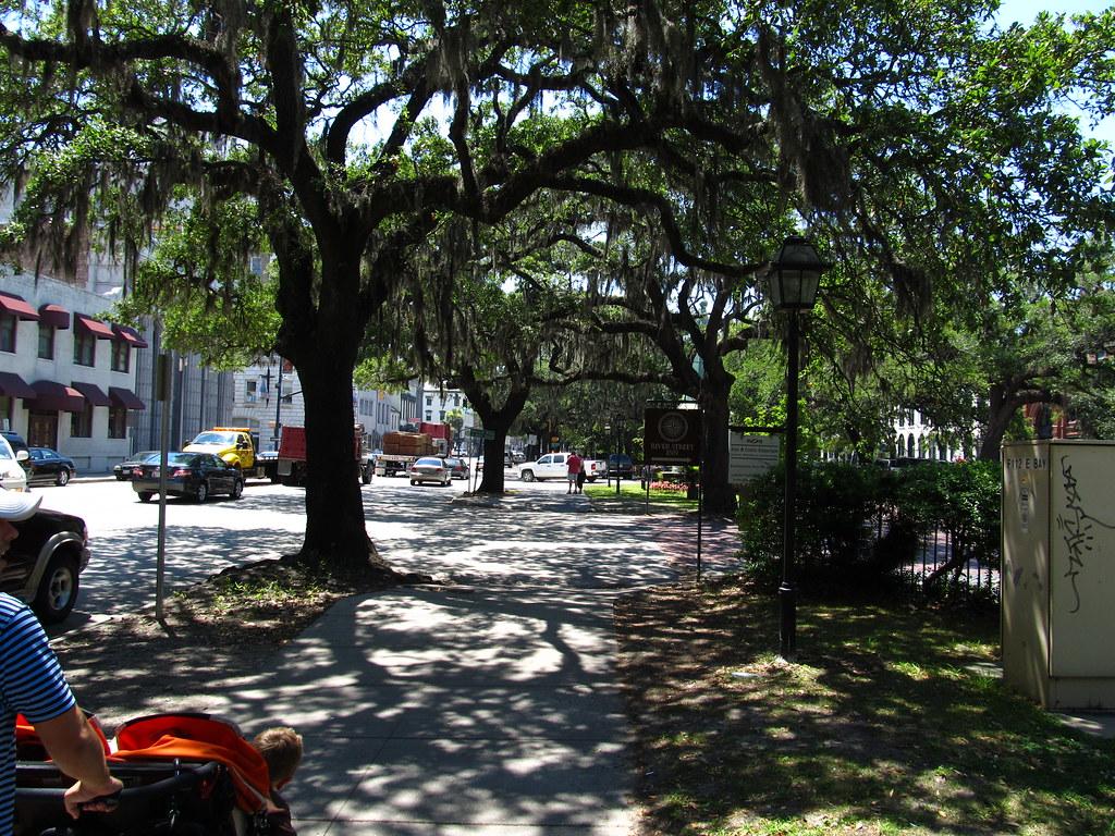 Bay Street Near Abercorn Street, Savannah, Georgia   Flickr