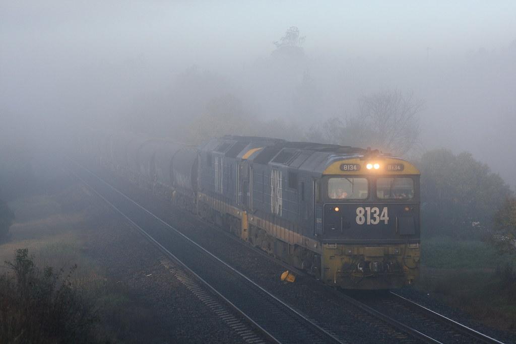 Bursting through the fog by Robert Cook