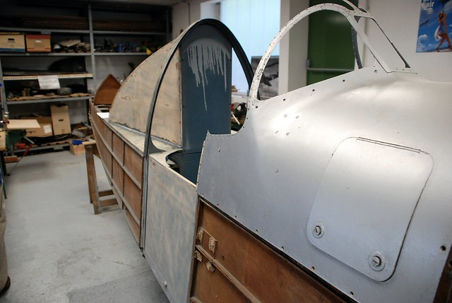 fuselage du Caudron 714