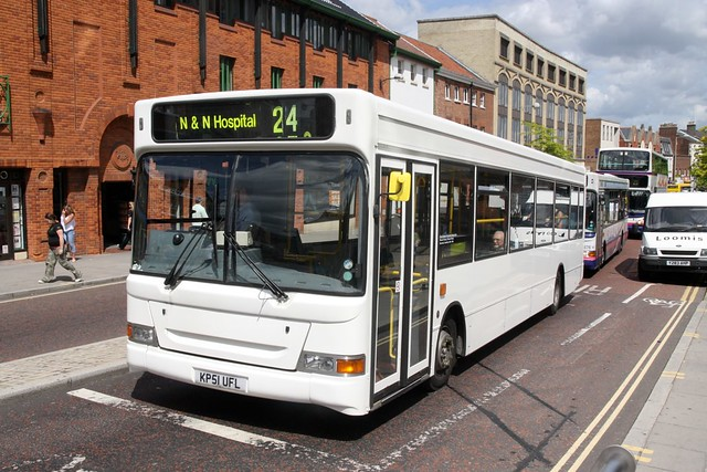 ALLIANCE & LEICESTER KP51UFL NORWICH 300608 (on hire to EASTERN COUNTIES)