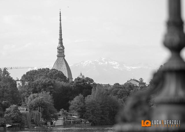 Mole Antonelliana vista dal Ponte Isabella - Torino