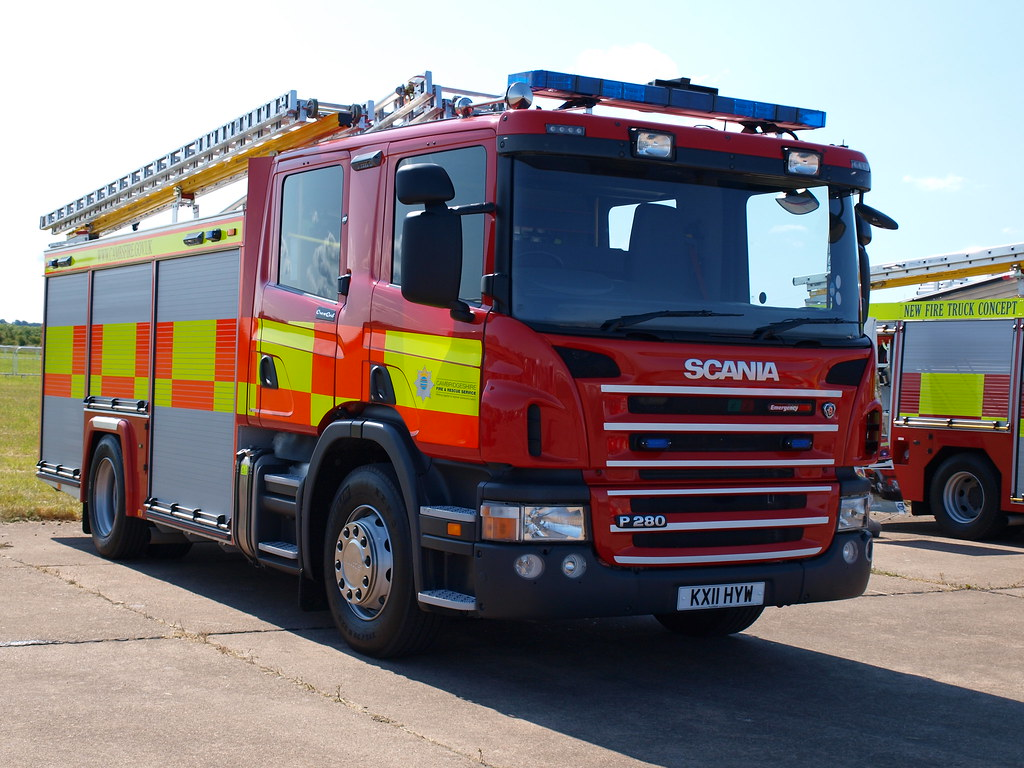Cambridgeshire Fire and Rescue Service | Scania P280 | App