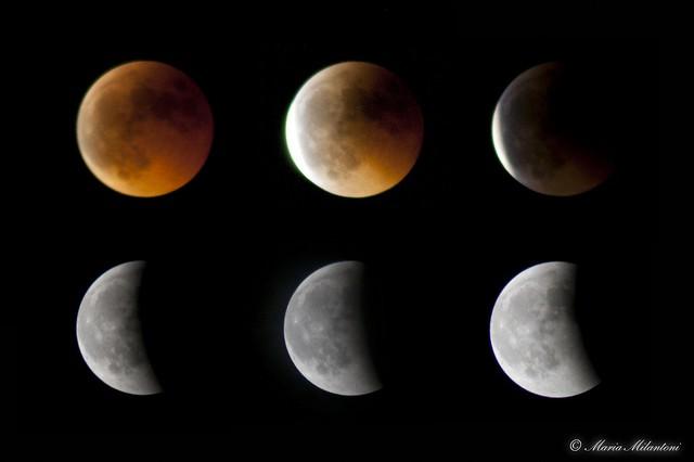 Eclissi di luna - 15.06.2011
