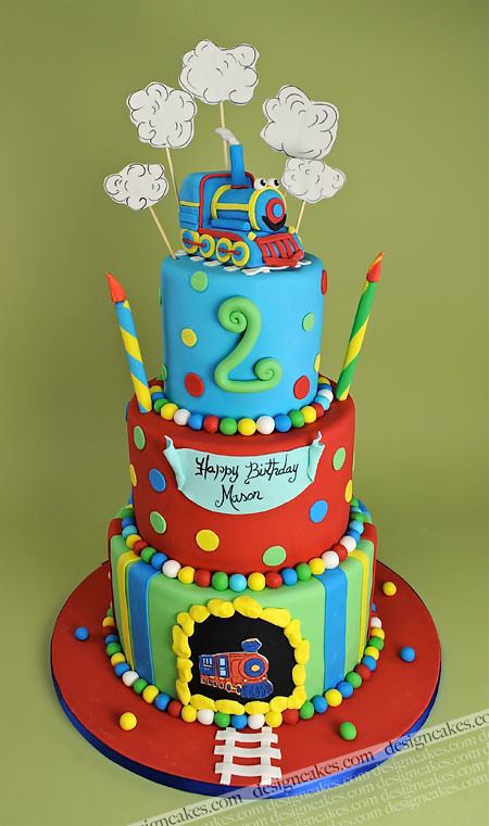 Groovy Train Birthday Cake Christine Pereira Flickr Personalised Birthday Cards Veneteletsinfo