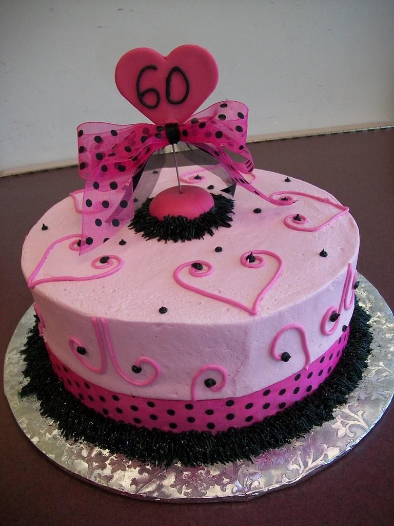 Phenomenal Happy 60Th Birthday Cake Custom Surcharge For This Cake S Flickr Funny Birthday Cards Online Amentibdeldamsfinfo