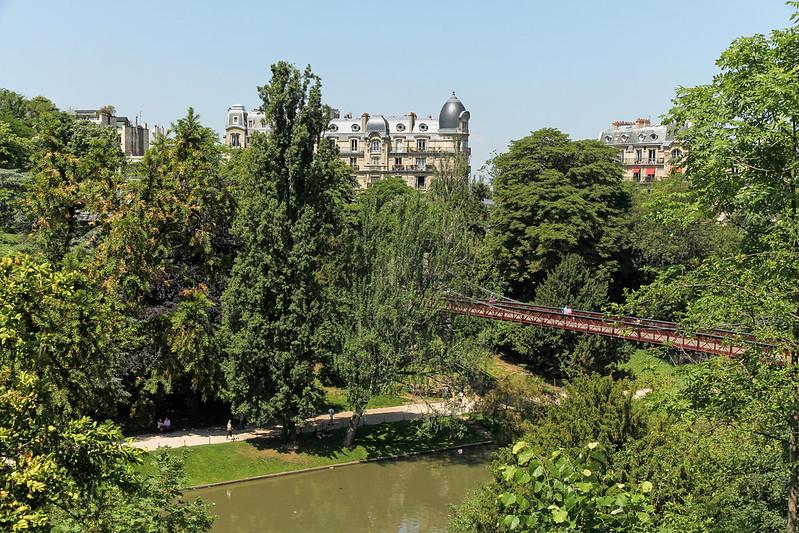 Parc des Buttes Chaumont - Paris (France)