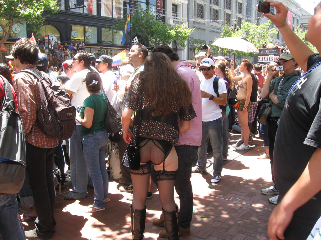 Ass Cute Pics sf pride parade 2011 - cute ass | cute girl with some nice s