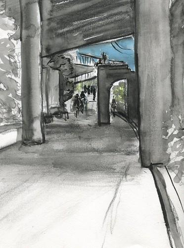 SketchCrawl - Eastside Esplanade