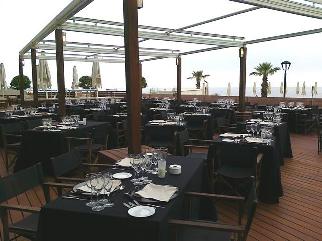 Terraza Restaurante La Hacienda Hotel Colon Thalasso Ter