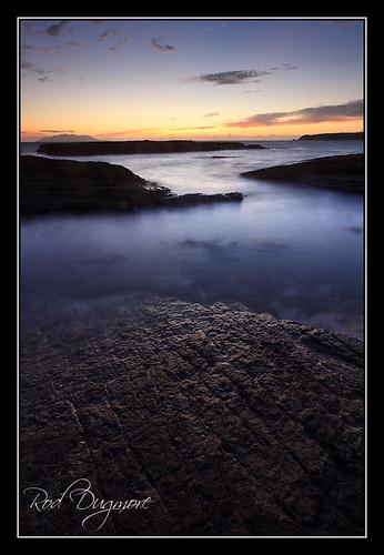 newzealand sunrise dawn rocks northisland tawharanui 5dmk2