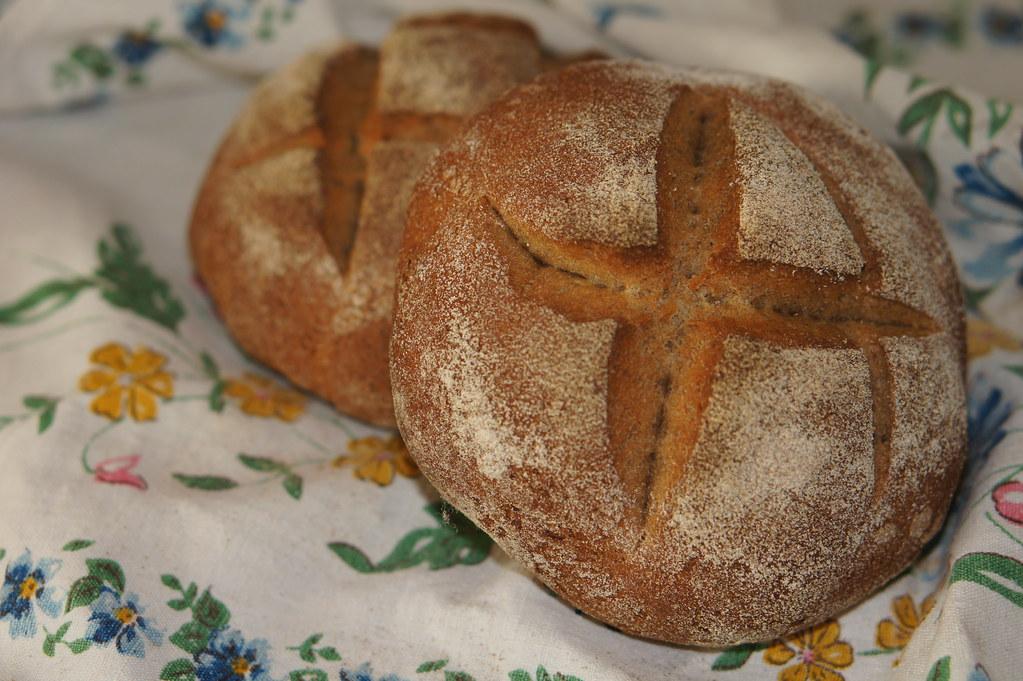 Ржано-пшеничный на опаре