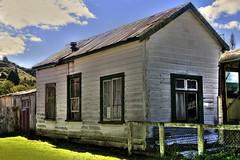 Old house, Whangamomona, Taranaki, New Zealand