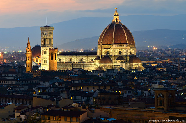 Brunelleschi's Dome, Florence, Italy.