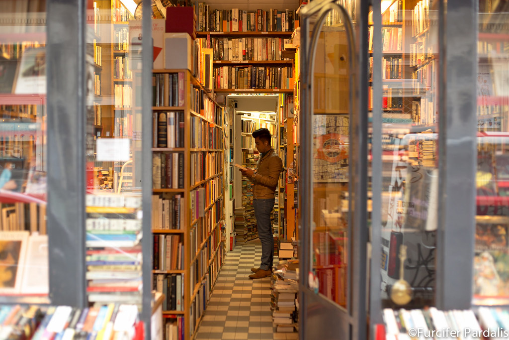 Book store.