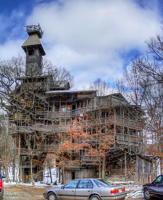 Minister's Tree House, Crossville, Cumberland County, Tennessee 3