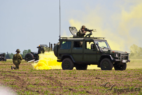 Canadian Forces Combined Arms Demonstration   by Henry_Lo