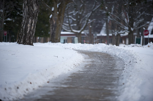 Sidewalk Winter