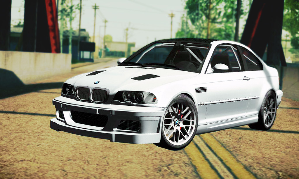 Bmw M3 E46 Gtr In Gta San Andreas The Bmw M3 E46 Gtr Mig Flickr