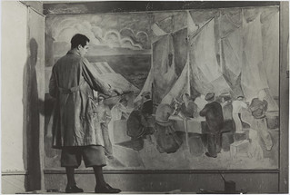 Mural and ornament painting | by Aalto University Library and Archive Commons