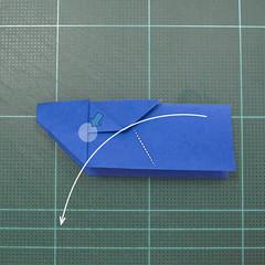 วิธีการพับกระดาษเป็นรูปกระต่าย แบบของเอ็ดวิน คอรี่ (Origami Rabbit)  013