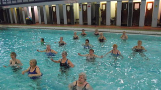 Tunstall Pool Aqua Fit session | by Matt Burke