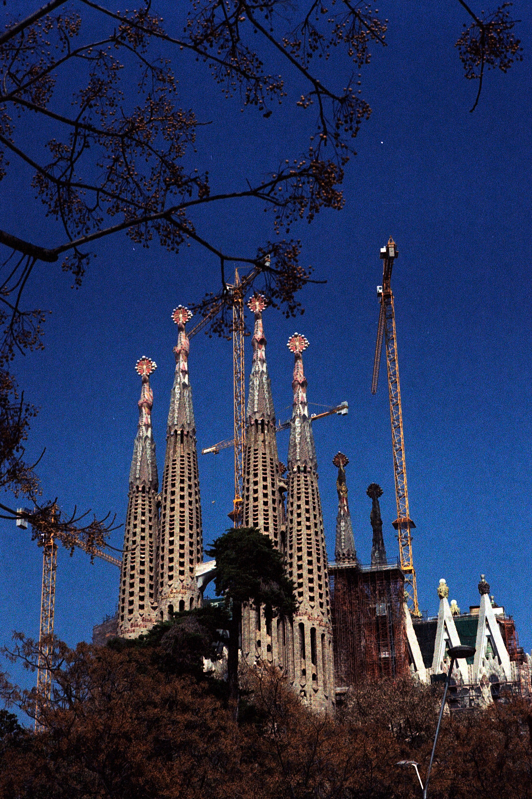 Barcelona, random shots in color