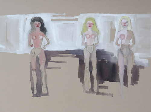 "Jennie Ottinger ""Naked Barbie Dolls"""