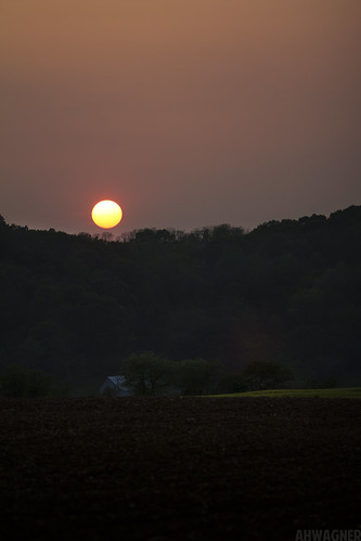 sunset sun nature canon landscape eos farm farmland 7d f2 135mm 135l f2l