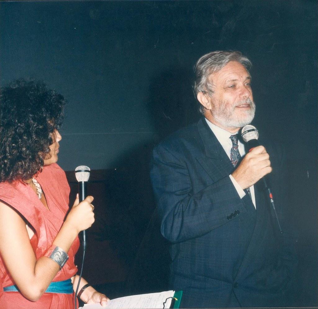 Luciano De Crescenzo Giffoni Film Festival 1986 Giffoni