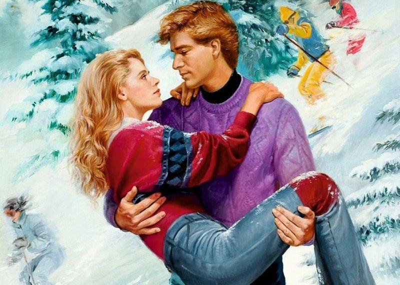 Прикольные, открытка паре влюбленной