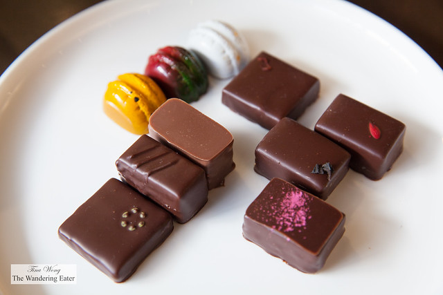 My plate of bonbons (or chocolates)