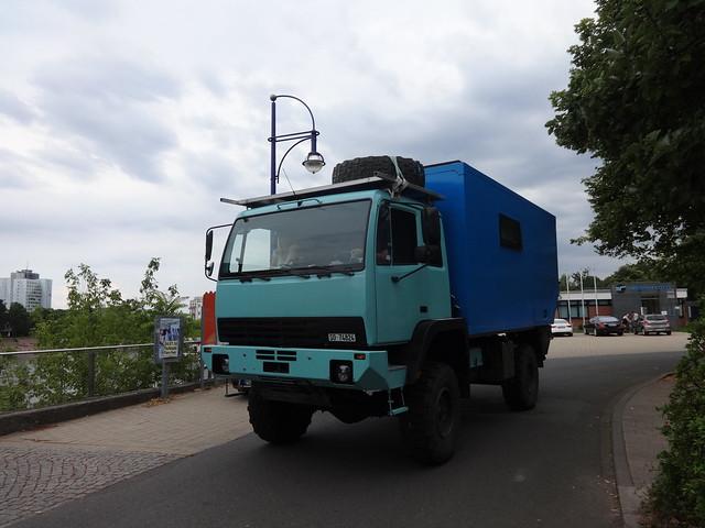 1988 Wohnmobil auf Steyr 12M18 Schleinufer in 39104 Magdeburg