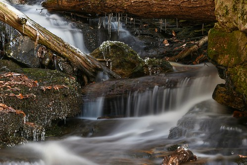 water waterfall smooth longexposure waterfalls worldsendstatepark pennsylvania pa nature beautiful beauty color landscape woods forest outside outdoors appalachia appalachianmountains loyalsock stateforest ndfilter moss snow ice icesickle cold winter frozen nikon nikond7200 nikonphotography nikkor nikkor1680mmf284eedvr saltydogphoto highrockfalls