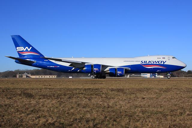 Silk Way Airlines  Boeing 747-83Q(F) VQ-BVC