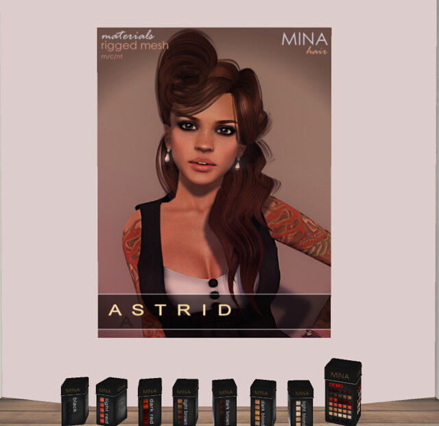 Mina - Astrid Hair @ My Attic
