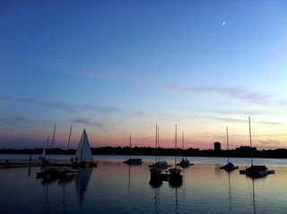 Our dinner view at Tin Fish #LoveMinneapolis #Summer | by Lorika13