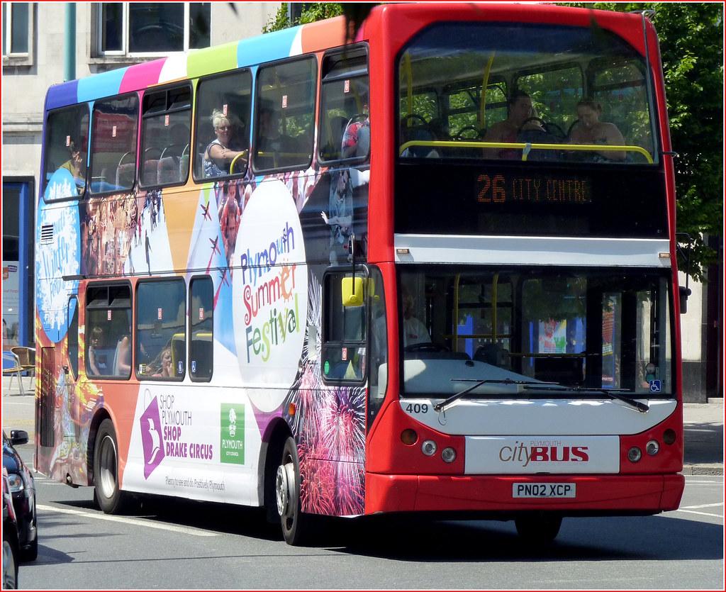 Plymouth Citybus 409 PN02XCP
