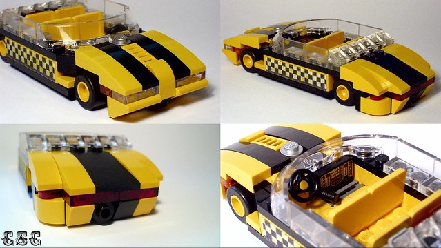 Sporty taxi