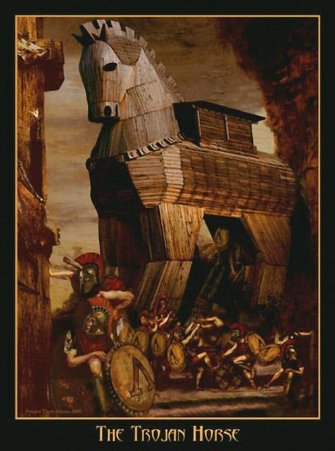 +1995 el caballo de Troya